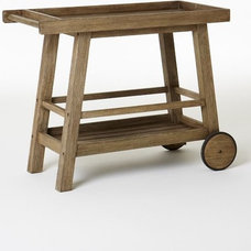 Eclectic Outdoor Serving Carts by West Elm