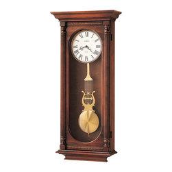 Howard Miller - Howard Miller Dual Chime Classic Pendulum Wall Clock | HELMSLEY - 620192 Helmsley