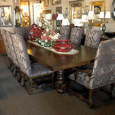 Traditional Dining Tables by Marco Draperies and Interiors LLC
