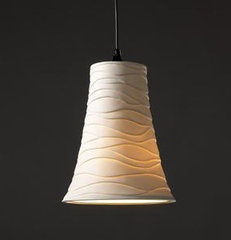 lamp shades Limoges Flared Shade Pendant by Justice Design