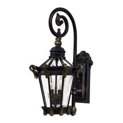 The Great Outdoors - The Great Outdoors GO 8931 2 Light Outdoor Wall Sconce from the Stratford Hall C - Two Light Outdoor Wall Sconce from the Stratford Hall CollectionFeatures:
