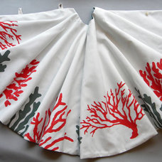 Tropical Christmas Tree Skirts by Etsy