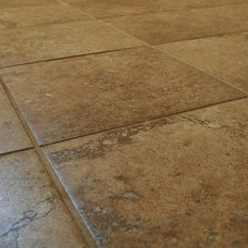 Traditional Floor Tiles by Crabbe Construction