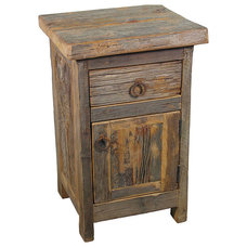 Rustic Nightstands And Bedside Tables by Indeed Decor