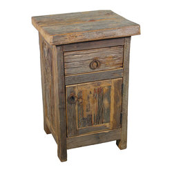 Barn Wood Nightstand