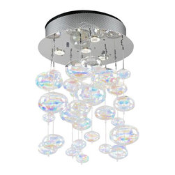 PLC Lighting - PLC Lighting PLC 96962 Four Light Multi Light Pendant Bubbles Collectio - PLC Lighting PLC 96962 Contemporary / Modern Four Light Multi Light Pendant from the Bubbles CollectionSince 1989, PLC Lighting, Inc. has continued to provide our customers with both contemporary and traditional lighting fixtures in a multitude of styles. Their products can be found in showrooms throughout North, Central and South America, as well as the Caribbean Islands. They furnish the finest residences, hotels, restaurants, and office complexes all over the world.Features: