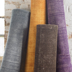Showroom Products - Zell. Hand loomed and over dyed with off-white undertones. Offered in a variety of colors and sizes.  Purchase at Hemphill's Rugs & Carpets www.RugsAndCarpets.com