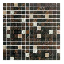 MS International - Elixir Mocha Latte 3/4 in. x 3/4 in. Mesh-Mounted Glass Mosaic Tile - 5 Sheets - Elixir Mocha Latte 3/4 in. x 3/4 in. Mesh-Mounted Glass Mosaic Tile. It features a recycled glass to provide a personalized unique look in your home. These tiles accentuate any installation with various design options.