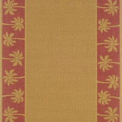 """Oriental Weavers Sphinx - Oriental Weavers Sphinx Lanai 606C 6'3"""" x 9'2"""" Red Rug - Our new Lanai Collection was inspired by the beauty and popularity of natural Sisal rugs. The multiple weaves and textures in each rug create fashionable, yet casual looks. These casual designs, as well as the inherently stain-resistant fibers, encourage a relaxed atmosphere to socialize with family and friends without the traditional worries associated with natural fiber rugs."""