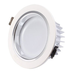 TorchStar - 12Watt 4-inch Dimmable LED Recessed Ceiling Light - 90W Halogen Equivalent, Warm - Overview