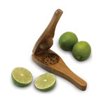 Enrico - Enrico EcoTeak Wood Lime Squeezer - -Made from environmentally-friendly reclaimed teak with an easy care food-safe lacquer finish