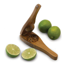 Enrico - Enrico EcoTeak Wood Lime Squeezer - Features: