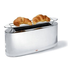 Alessi | SG68 Toaster with Bun Warmer -