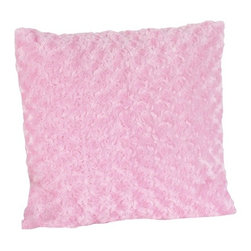 Sweet Jojo Designs - Olivia Pink Minky Decorative Accent Throw Pillow - The Olivia Pink Minky Decorative Accent Throw Pillow will help complete the look of your Sweet Jojo Designs room. This adorable accent pillow can be used on a bed, chair or sofa.