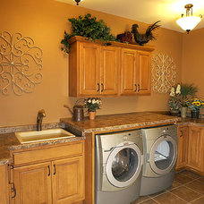 Traditional Laundry Room by David & Goliath Builders--DG Remodeling