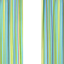 Sweet Jojo Designs - Layla Designer Stripe Window Panel - Set of 2 by Sweet Jojo Designs - The Layla Designer Stripe Window Panel - Set of 2 by Sweet Jojo Designs, along with the  bedding accessories.
