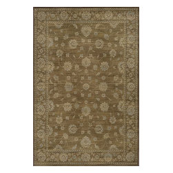 Momeni - Momeni Belmont Be02 Brown Rug - Inspired by Persian textiles and antique rugs, Belmont is traditional collection power-loomed of polypropylene, with machine finishing. Many designs feature a drop-stitch technique that adds texture and depth.