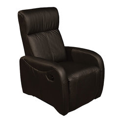 Tempo Boca Leather Recliner Chair By Furniture Resource - Enjoy the luxury of true comfort with the Tempo Boca Leather Recliner Chair. The Tempo Boca Leather Recliner Chair offers the perfect place to relax whether you're watching the game catching up with your favorite author or catching a quick afternoon nap. There's no need to sacrifice style for comfort though as this recliner offers a simple modern look that will easily integrate into your home.