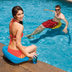 SwimWays - SwimWays Swim Up Seat Multicolor - 13396 - Shop for Pool Accessories from Hayneedle.com! Why get stuck with all the work when the SwimWays Swim Up Seat can give you helping hand? This durable and lightweight swim seat provides great floating support in the pool and a comfy seat poolside. It's contoured to fit you just right and provides great buoyancy for adults up to 250 pounds.About SwimWays Based in Virginia Beach Virginia SwimWays has one mission: make free time more fun through innovation. They provide your family with pool toys floats decorations games and even swim training gear to make sure you have no ordinary day at the pool. With over 35 000 storefronts and offices in Hong Kong and the United States SwimWays diverse staff is dedicated to bringing you the best. Safety is their priority helping to teach kids to swim for over 40 years with an innovative line of swim-training products. SwimWays is here to help and stands by their products every step of the way.