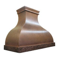 Copper Range Hood | Arabella | Vogler - Custom Copper Arabella Range Hood by Vogler Metalwork & Design