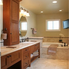 Traditional Bathroom by Morey Remodeling Group