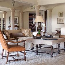 Mediterranean Living Room by Designer Premier
