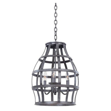 Introductions Straight From Dallas Lighting Market - The caged mini chandelier is a modern interpretation of a more rustic period. With a worn metal cage surrounding a delicate three light chandelier, this piece draws the viewer in. Captivating and strong, this light reminds one of old castles and medieval chambers.