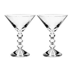 Baccarat - Baccarat Martini Glass Vega Clear Boxed Set Of 2 5 7/8 H - Baccarat Martini Glass Vega Clear Boxed Set Of 2 5 7/8 HBaccarat Crystal can trace its history back to 18th century France, where in the village of Baccarat a glassworks facility was established. Since 1794 they have been producing some of the world,s finest crystal, using age old methods. Baccarat crystal glasses have been produced for kings and queens alike. Their delicate detailing and unparalleled quality are sought after by collectors around the world, and now they can be part of your home at affordable prices