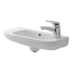 Duravit - Duravit - Handrinse basin 19 5/8 In D-Code - No tap hole - 07065000002 - White