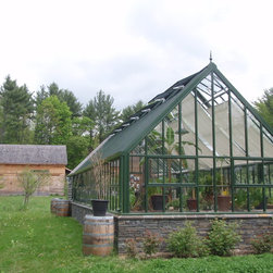 attached English greenhouses / glasshouses - Victorian greenhouses / glasshouses - Hartley Botanic Inc.