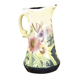 Dale Tiffany - Dale Tiffany PA500212 English Garden Jug - English Grdn Jug