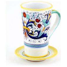 Mediterranean Mugs by Artistica Italian Gallery