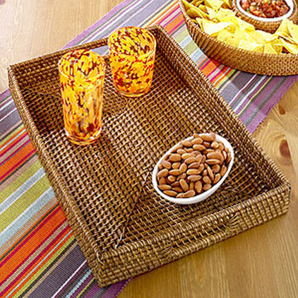 tropical serveware by World Market