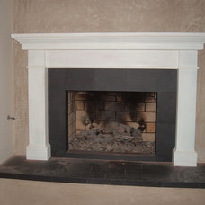 Contemporary Fireplaces by The Mantel Guy .com