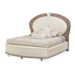 AICO - AICO Overture Bed Collection - Starting price is for Queen size bed collection only.