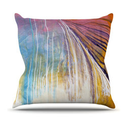 """Kess InHouse - Steve Dix """"Sway"""" Throw Pillow (Outdoor, 26"""" x 26"""") - Decorate your backyard, patio or even take it on a picnic with the Kess Inhouse outdoor throw pillow! Complete your backyard by adding unique artwork, patterns, illustrations and colors! Be the envy of your neighbors and friends with this long lasting outdoor artistic and innovative pillow. These pillows are printed on both sides for added pizzazz!"""