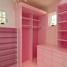 Contemporary Closet by Classy Closets