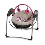 Graco - Graco Glider Petite LX Gliding Swing in Lexi - Designed to deliver the same gentle motion you use when cuddling your little one, this innovative gliding swing has all the features parents want in a swing with the gliding motion baby loves.