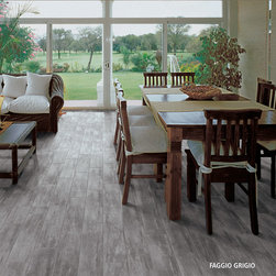 Porcelain Tile Installation woodland series -