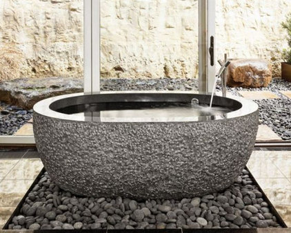 Eclectic Bathtubs by Stone Forest