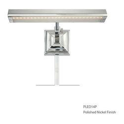 "WAC Lighting - WAC Lighting PL-LED24P-27 LED Picture Lights Series Single-Light 24"" Portable LE - WAC Lighting PL-LED24P-27 Features:"