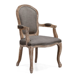 ZUO ERA - Hyde Chair Charcoal Gray - Hyde Chair Charcoal Gray