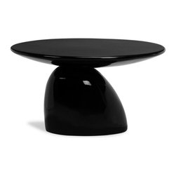 Zuo Modern - Zuo Bolo End Table in White - End Table in White belongs to Bolo Collection by Zuo Modern The Bolo table is brilliantly sculpted piece, made of fiberglass and coated in a glossy pure white. This table makes the ultimate design statement. End Table (1)