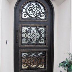 Iron Doors - Exterior - Single Iron Door