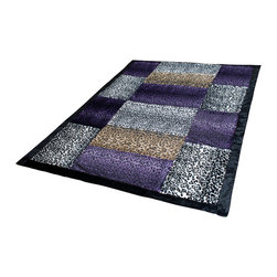 """Blancho Bedding - Onitiva - [Fashion Life] Patchwork Throw Blanket (61""""-86.6"""") - This animal skin patchwork throw blanket measures 61 by 86.6 inches. Comfort, warmth and stylish designs."""