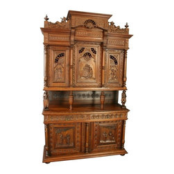 EuroLux Home - Consigned Antique Chestnut French Brittany Style Beer - Product Details