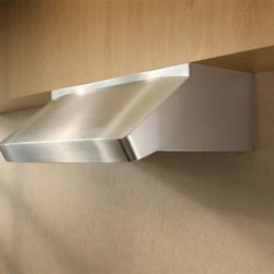 """Best - UP27M48SB Centro Poco 48"""" Pro-Style Range Hood with 11 Blower Options  Automatic - Centro Poco offers modern under-cabinet styling designed to be the focal point of the room With high performance and durable construction Centro Poco will meet the needs of professional-quality residential cooking Now with iQ blower options and Hi-Fl..."""
