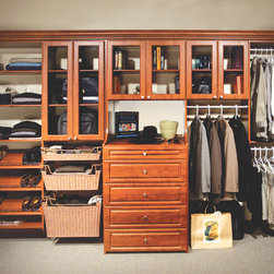 Custom Closet - More Space Place products - Murphy Beds, Custom Closets, Organizing Systems, Garages and Workshops, Hidden Beds, Home Offices, Pantries and more!
