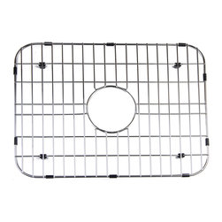 ALFI - ALFI Solid Stainless Steel Kitchen Sink Grid, GR2418 - Protect your investment with this solid stainless steel grid that sits on the bottom of your fireclay sink. Protects the sink from nicks or cracks caused by heavy pots or pans dropped in, reduces the need for cleaning marks or stains of the bottom of the sink.