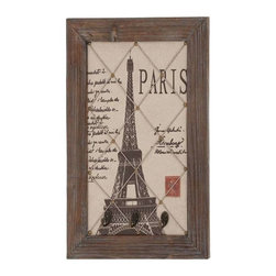 Benzara - Eiffel Tower Themed Elegant Wall Hook Decor - Eiffel Tower Themed Elegant Wall Hook Decor. Bring the world most amazing and beautiful the Eiffel Tower to your home. Some assembly may be required.